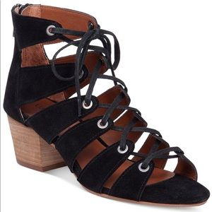 Lucky Brand Genevie Ghillie Lace Up Sandals